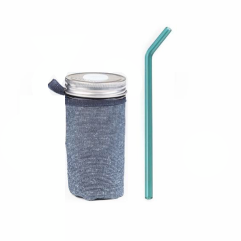 24 oz Venti Reusable Cup -includes jar, sleeve, straw, cleaner and lid