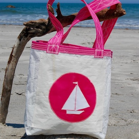 Pink Boat Sail Bag - The Everyday Tote