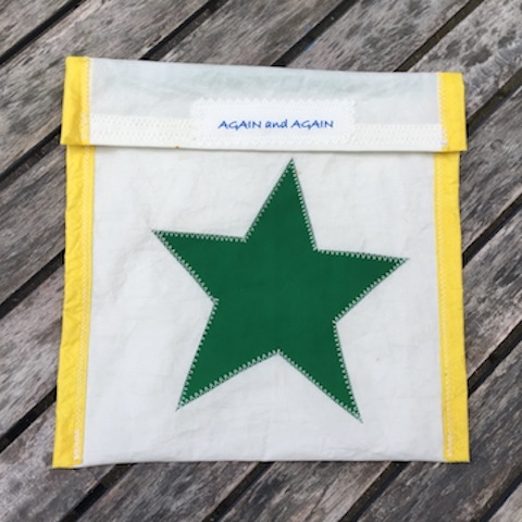 Green Star - Yellow Trim Accessories Pouch