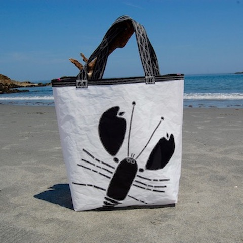Black Lobster Sail Bag - Beach Getaway