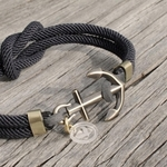 Square Knot Nautical Rope Bracelet