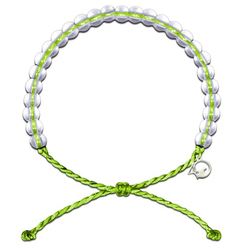 4Ocean Sea Turtle Bracelet (Lime Green)