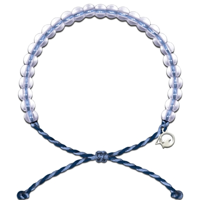 4Ocean Whale Bracelet (Light Blue and Purple)