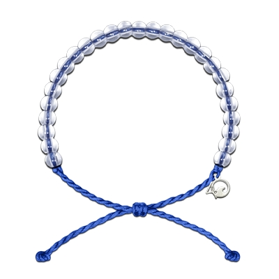 4Ocean Signature Bracelet with Charm (Blue)