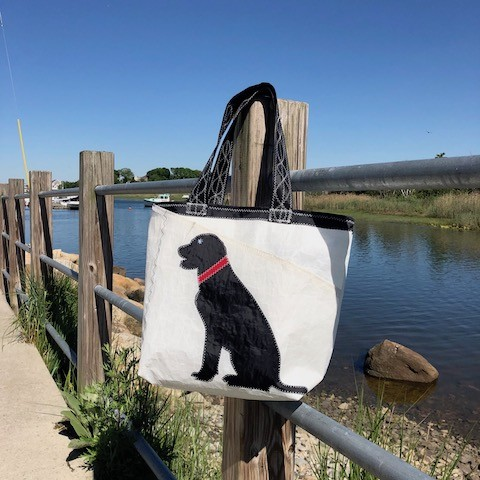 Black Dog Everyday Tote Sail Bag
