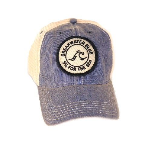Blue Vintage Trucker Hat