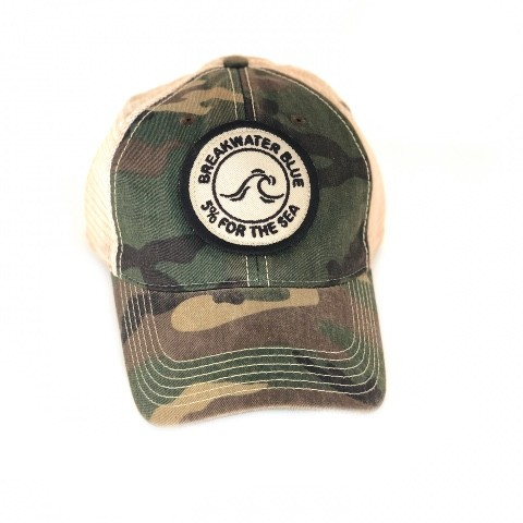 Camo Vintage 5% for the Sea Trucker Hat