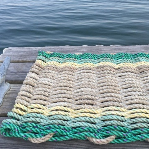 Recycled Lobster Rope Doormat - Chatto