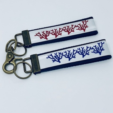 Sail Cloth Key Chains -(key fob)