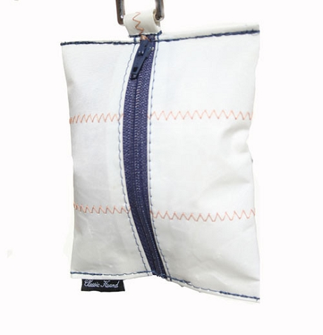 Brant Point Blue Recycled Sail Dog Waste Bags