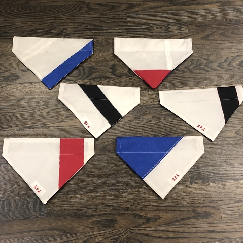 Recycled Sail Dog Bandanas - Medium Dog