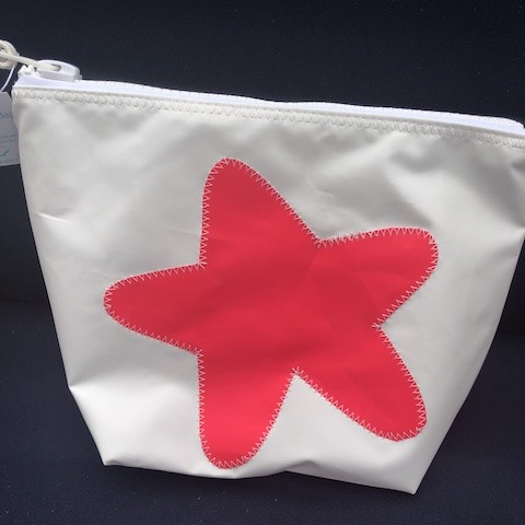 Pink Starfish Sunblock Bag