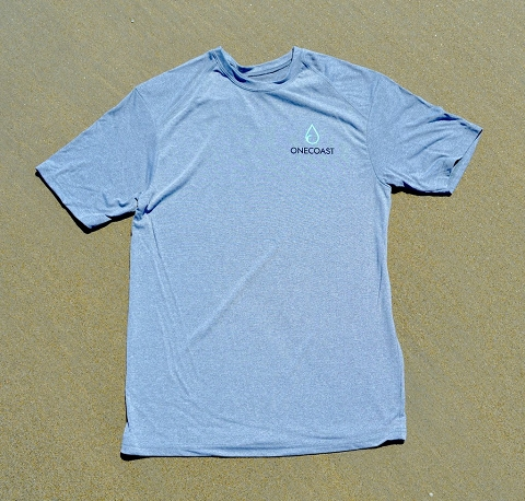 OneCoast T-shirt - made from plastic water bottles