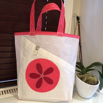 Pink Sand Dollar Sail Bag