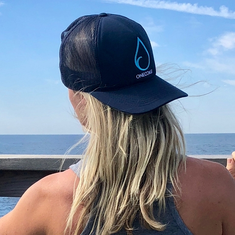 OneCoast Trucker Hat - Made from Recycled Ocean Plastic