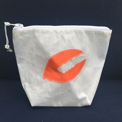 Orange Lobster Claw Sunblock Bag