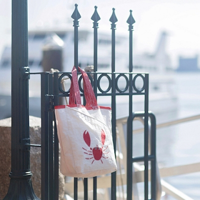 Red Crab Sail Bag - The Weekender
