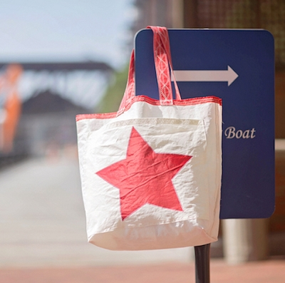 Red Star Sail Bag - The Weekender