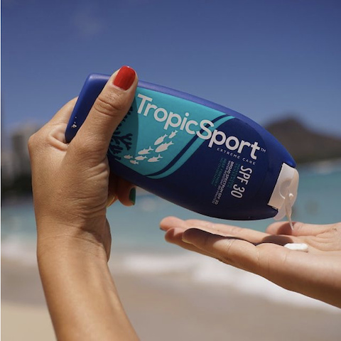 TropicSport Mineral (no white) Sunscreen 6.5 oz