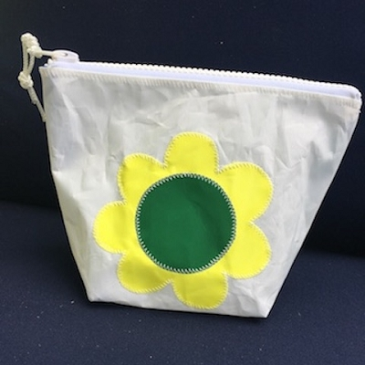 Yellow Flower Sunblock Bag