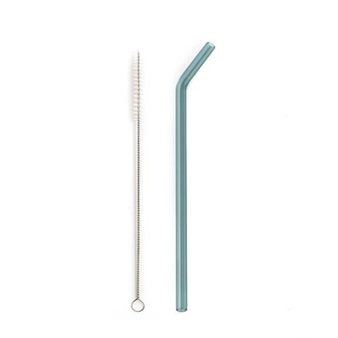 Single Bent Straw with Cleaner