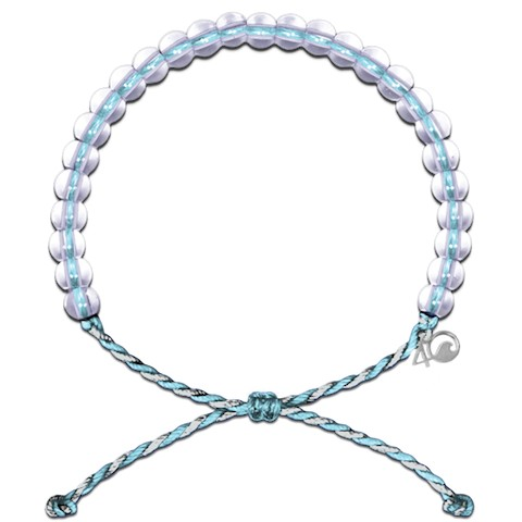 4Ocean Dolphin Bracelet (Light Blue/White)