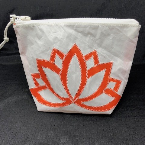 Orange Lotus Flower Sunblock Bag