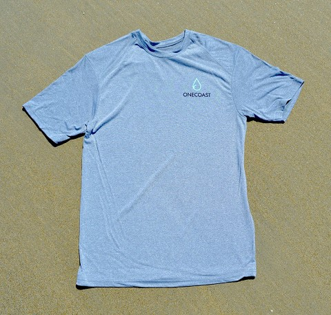 OneCoast Slider Tee - made from plastic water bottles