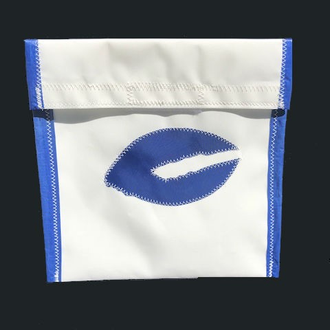 Blue Lobster Claw Accessories Bag