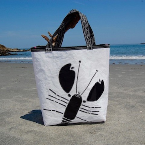 Black Lobster Sail Bag - The Weekender with Zipper