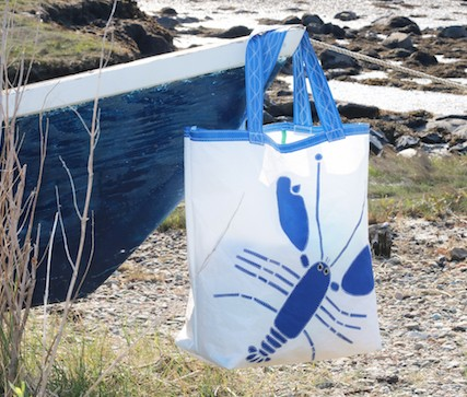 Blue Lobster Sail Bag - Beach Getaway