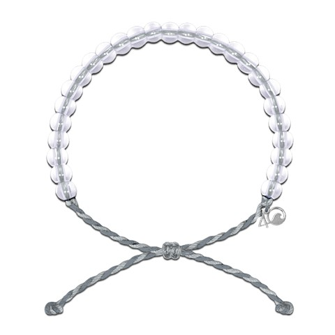 4ocean Manatee Bracelet (Dark Grey/Light Grey)